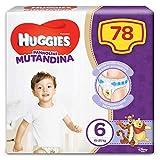 Huggies 2658901 Pannolino Mutandina Taglia 6 (15-25 Kg), 1 Confezione da 78 Pannolini. 3080 Gr