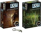 Lote de 2 juegos de exit: el laboratorio secreto + la tumba del faraón + 1 abridor de botellas Blumie.