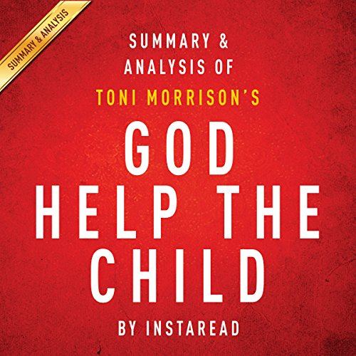 God Help the Child by Toni Morrison audiobook cover art