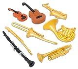 Toob Musikinstrumente Miniaturen (Mehrfarbig)
