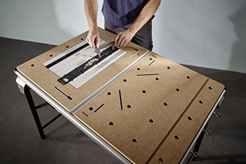 Wolfcraft Master Cut 2500 – Präzisionssägetisch und Arbeitsstation, 1 Stück, 6902000 - 6