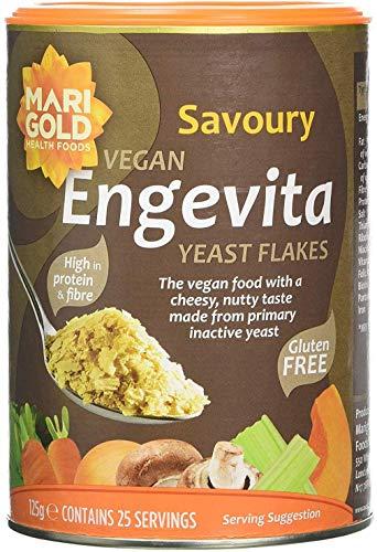 Engevita Yeast Flakes 125 g (Pack of 6)