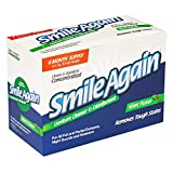 Smile Again Denture, Mouth Guard, Night Guard, Retainer Cleaner and Disinfectant - Mint Flavor - 6 Month Supply