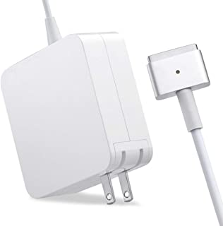 MacBook Pro Charger, TanGo Replacement MacBook Charger 60W Magsafe 2 Magnetic T-Tip Power Adapter Charger for Apple MacBook Pro 13-inch Retina Display-After Late 2012