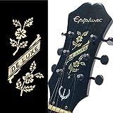 Pegatina para cabeza de guitarra - De Luxe Flowers