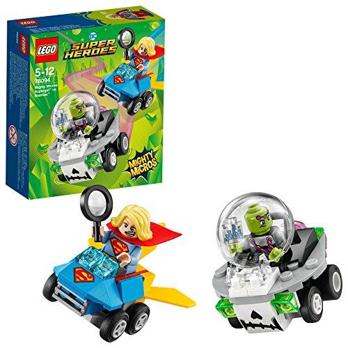 LEGO DC Super Heroes Mighty Micros: Supergirl vs. Brainiac 76094 Superheldenspielzeug für Mädchen und Jungen