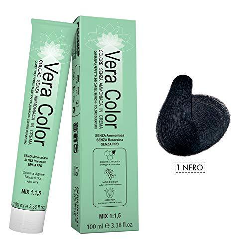 Coloration cheveux noirs