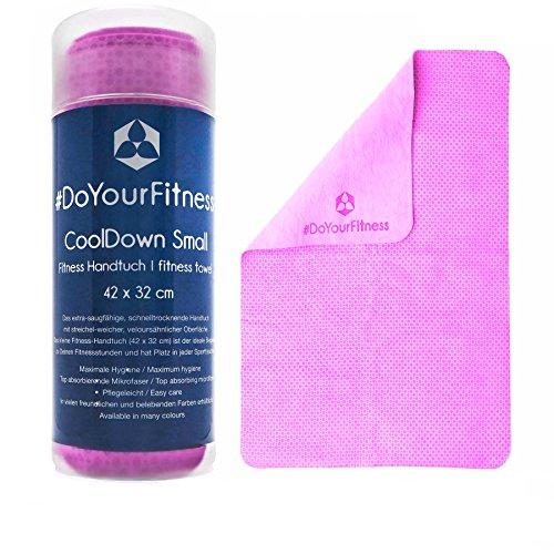 #DoYourFitness Fitnesshandtuch »CoolDown« / Sporthandtuch, IceTowel/Big 65 x 42 cm/EXTRA saugfähig, schnelltrocknend, streichelweich/pink