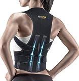 kossto Premium Magnetic Back Brace Posture Corrector Therapy Shoulder Belt for Lower and Upper Back...