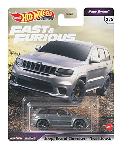 Hot Wheels Fast & Furious Jeep Grand Cherokeee-Track Hawk.