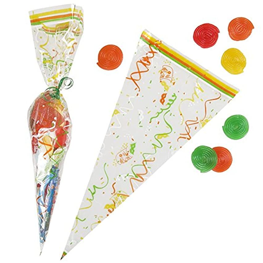 Garcia de Pou Triangle PP Bag Sweets, 20 x 39.5 cm, Polypropylene, White, 20 x 39.5 x 30 cm
