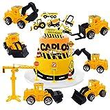 Building Vehicle Cake Decoration Set - YUESEN Building