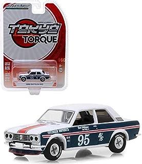 New DIECAST Toys CAR Greenlight 1:64 Tokyo Torque Series 4-1969 Datsun 510 - #95 BOB LEITZINGER 47020-A