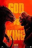 Lionbeen Godzilla VS Kong - Movie Poster - Filmplakat 70 X