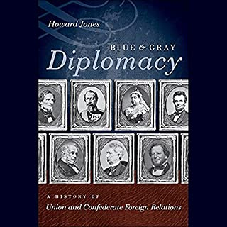 Blue and Gray Diplomacy audiobook cover art