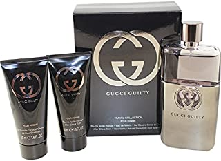 Gucci Guilty 3 Piece Gift Set for Men, 3.0 Ounce