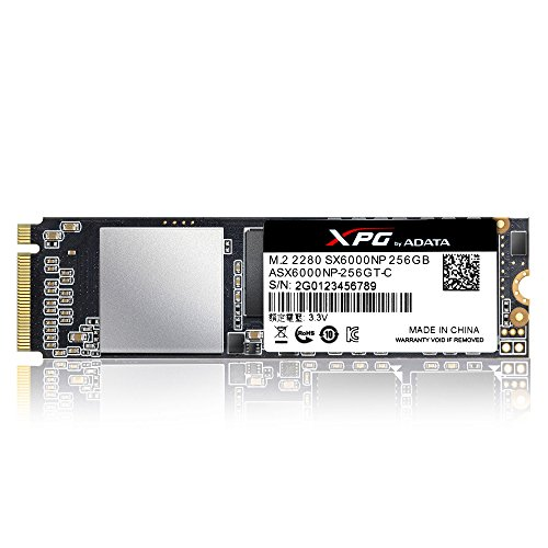 XPG SX6000 256 GB PCI Express 3.0 M.2 - Disco Duro sólido (256 GB ...