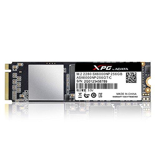 XPG SX6000 256 GB PCI Express 3.0 M.2 - Disco Duro sólido (256 GB ...