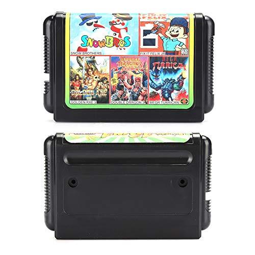 Weikeya Spiel Karte, mit Plastik Gaming Grafik Karte zum Sega Gamepad Gaming Zubehör