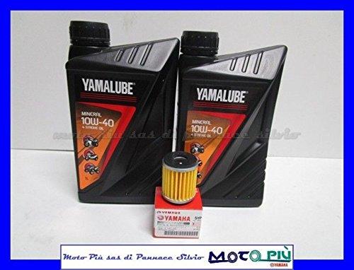 Kit de revisión Yamalube de 2 litros de aceite + filtro para Yamaha X-Max 125 2006-2017
