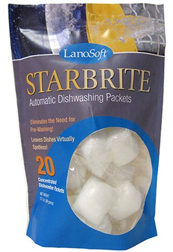 StarBrite Automatic Dishwashing Packets by LanoSoft, 12.7-Ounce