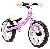 """BIKESTAR 2-en-1 Bicicleta sin Pedales para niños y niñas 3-4 años   Bici con Ruedas de 12"""" Edición Sport   Rosa"""
