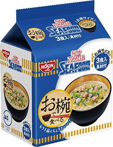 日清食品 お椀で食べるカップヌードルシーフード 3食パック 102g×9パック
