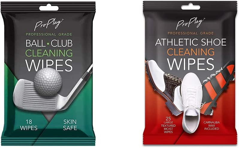 ProPlay Max 59% [Alternative dealer] OFF Ball Club Cleaning Wipes Cleani Pack Shoe Athletic 1