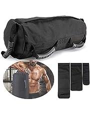 PELLOR Sandbag, Fitness Training Power Bag Sacca Allenamento 0-27 kg, Perfetta per Migliorare Equilibrio Functional Training e Potenziamento Muscolare