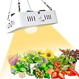 CREE CXB3590 COB LED Grow Light Full Spectrum, CFGROW Dimmable MeanWell Driver Sunlike 3500K White LED Plant Grow Lights Replace Sunlight & 300W HPS Grow Lamp for Indoor Plants Seedling Veg Flowering