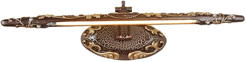 Badezimmer Lichter Spiegel-vordere helle Badezimmer-Lichter LED-Eitelkeit-helle Kabinett-Lichter, die Wand-Lampen-wasserdichtes Bild-Scheinwerfer kleiden Deckenleuchte (gre   60cm)