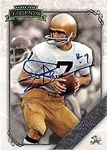 Joe Theismann autographed football card (Notre Dame Fighting Irish) 2008 Press Pass Legends #79 - College Cut Signatures