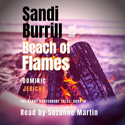 Sandi Burrill and the Beach of Flames audiobook cover art