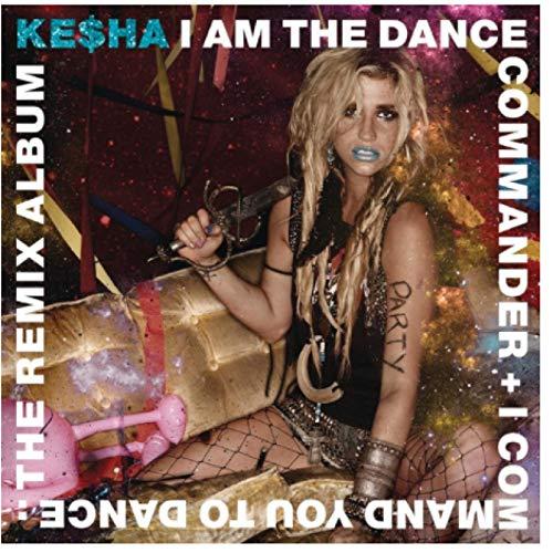 Kesha I Am the Dance Commander + Te mando a bailar carteles e impresiones para la decoración del hogar del dormitorio -50x50cm sin marco
