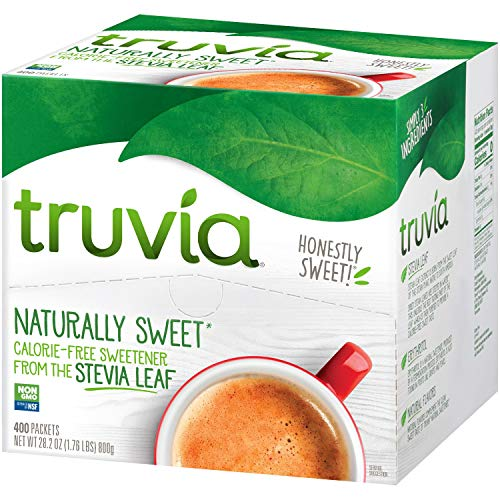 Truvia Natural Sweetener 2 Pack (400 Count) Delivers a Promise