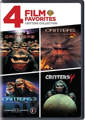 4 Film Favorites: Critters 1-4 Collection [Import USA Zone 1]