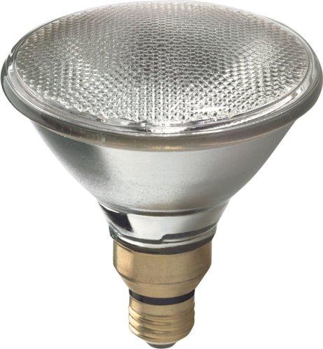 GE Halogen Flood Light Bulbs, Energy Efficient PAR38 Flood Lights, 80-Watt, 1600 Lumen, Medium Base, White, 2-Pack Spotlight Bulb, Indoor and Outdoor Flood Light Bulb