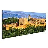 islandburner Bild Bilder auf Leinwand Alhambra-Palast