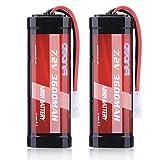 AWANFI Batería RC 7.2V 3600mAh NiMH Recargable de Gran Capacidad con Conector...