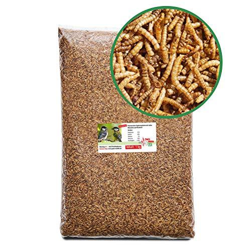 Paul´s Mühle Mehlwürmer getrocknet Premiumqualität, 1 kg
