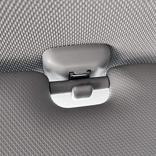 FYLYHWY Gris Front Sun Visor Sunvisor Hook Clips Clips Soporte para Seat...