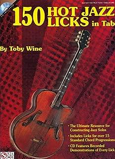 150 Hot Jazz Licks in Tab