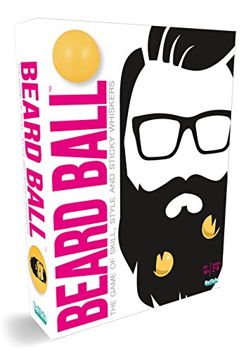 Buffalo Games Beard Ball- The Party Game of Skill, Style, & Sticky Whiskers