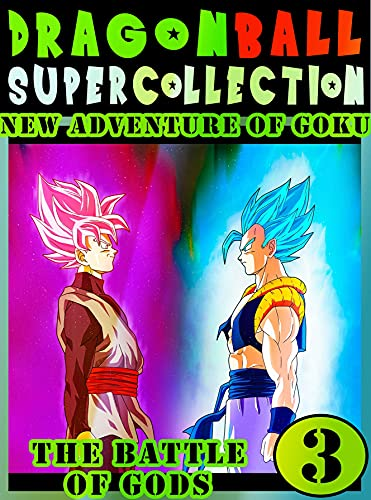 Dragonball-Super-Battle-Adventure: Collection Book 3 Dragon Adventure Great Super Ball Action Shonen Manga Graphic Novel For Adults, Teens, Children (English Edition)