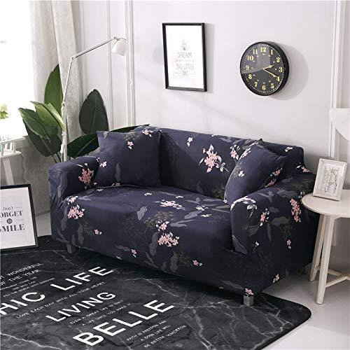 WXQY Fundas de sofá elásticas para Sala de Estar Funda de sofá Todo Incluido Estiramiento Protector de Muebles Fundas Sillones Fundas de sofá A4 1 Plaza