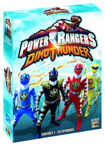 Coffret power rangers : dino thunder 1 [FR Import]