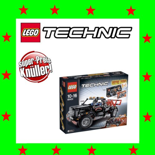 LEGO Technic 66433 Super Pack 3 in 1 (8293+9392+9395)