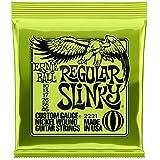 【国内正規輸入品】ERNIE BALL アーニーボール エレキギター弦 #2221 REGULAR SLINKY 6SET レギュラー・スリンキー 6セット
