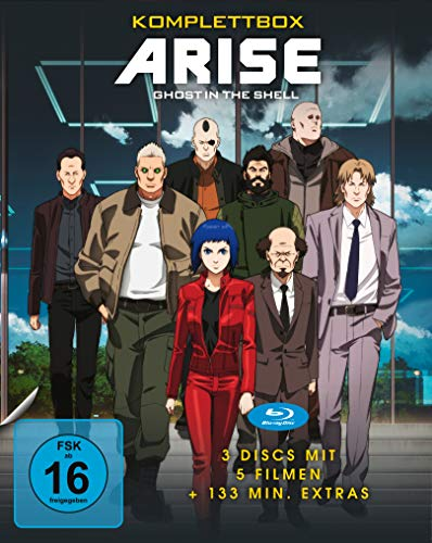 Ghost in the Shell - ARISE - Komplettbox [Blu-ray]