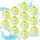 Pet Hair Remover for Laundry, Reusable Laundry Ball to Remove Hair, Lint Remover Washing Balls - 12 Packs